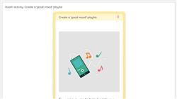 Kooth activity: Create a 'good mood' playlist