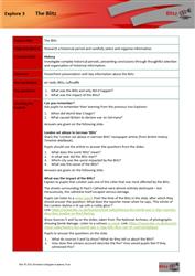 Explore 3 The Blitz: teacher's notes