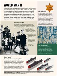 Explore 2 World War II timeline: The impact of war