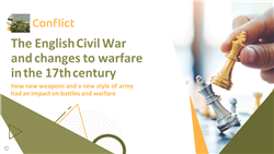The English Civil War and changes to warfare in the 17th century
