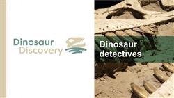 Explore 2 Dinosaur detectives: teaching slides