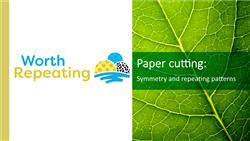 Explore 9 Paper cuttings: teaching slides