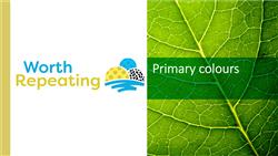 Explore 6 Primary colours: teaching slides