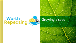 Explore 5 Growing a seed: teaching slides