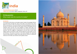 India: theme overview