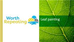 Explore 7 Leaf painting: teaching slides