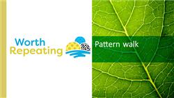 Explore 1 Pattern walk: teaching slides