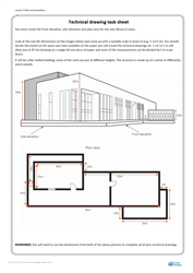 Lesson 5 Plans and elevations: Technical drawing task sheet