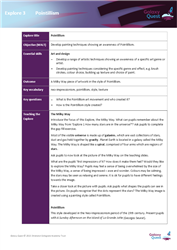 Explore 3 Pointillism: teacher notes