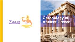 Explore 2 Chronology of Ancient Greece: teaching slides