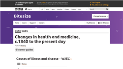 Changes in health and medicine, c.1340 to the present day