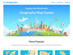 Geography map games