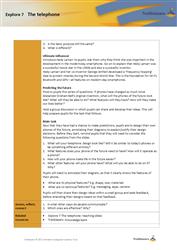 Explore 7 The telephone: teacher notes