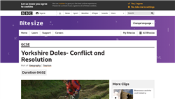 Yorkshire Dales – conflict and resolution