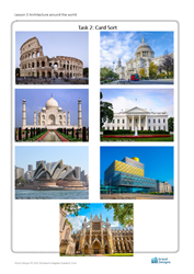 Lesson 3 Architecture around the world: