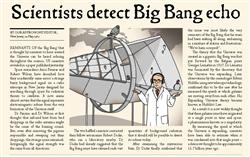 Explore 1 Slide 8 Scientists detect Big Bang echo