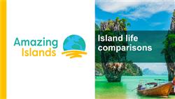 Explore 6 Island life comparisons: teaching slides