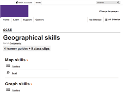 Geographical skills