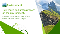 Industrial Britain: Its use of the environment and its impact