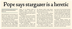 Explore 8 Slide 13 Pope says stargazer is a heretic