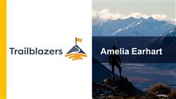 Explore 5 Amelia Earhart: teaching slides