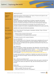 Explore 2 Exploring the world: teacher notes