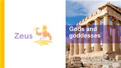 Explore 4 Gods and goddesses: teaching slides