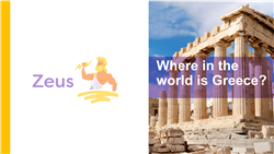 Explore 1 Where in the world is Greece: teaching slides