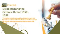 Elizabeth I and the Catholic threat 1558–1588