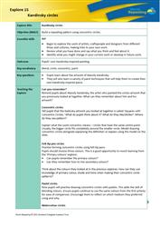 Explore 15 Kandinsky circles: teacher's notes