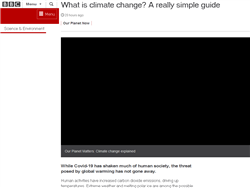 What is climate change? A really simple guide